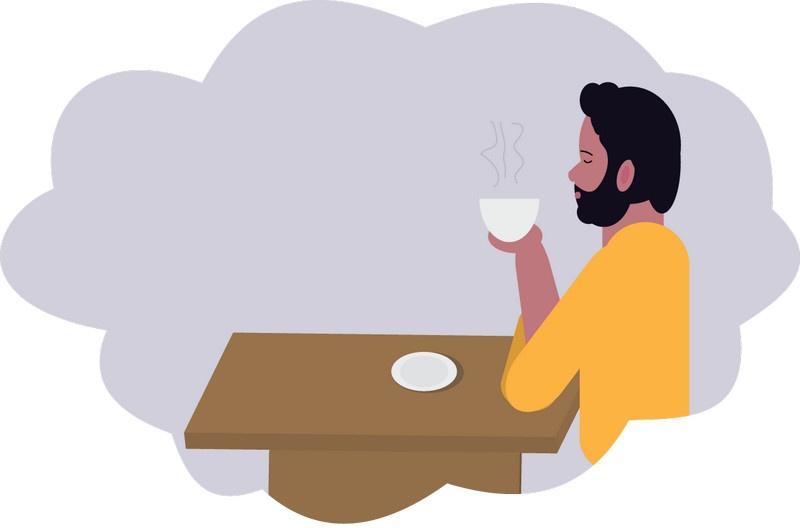 Сергей и его кофе