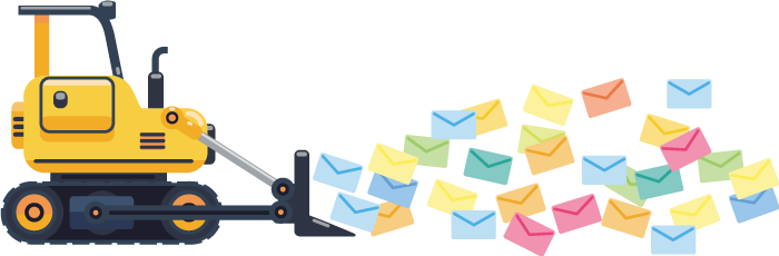 Героическое разгребание почты