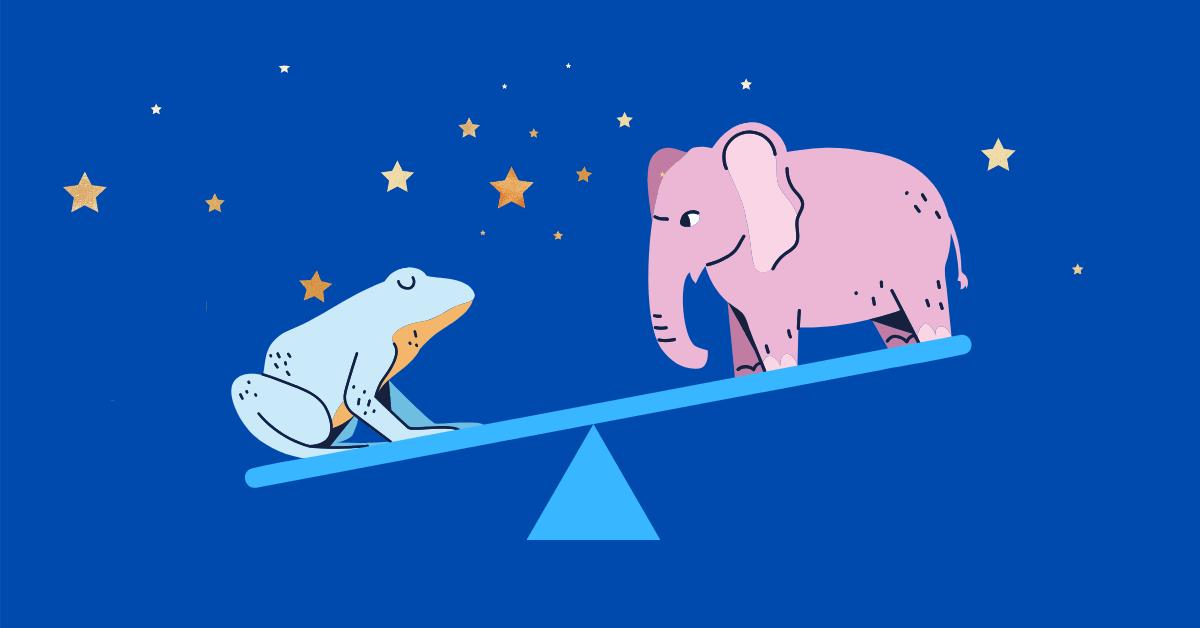 Лягушки и слоны