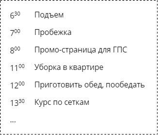 Расписание Бориса